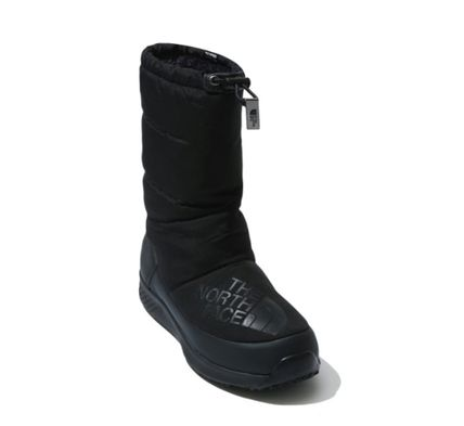 THE NORTH FACE WHITE LABEL Street Style Logo Mid Heel Boots