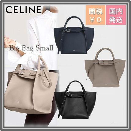 CELINE Big Bag Casual Style 2WAY Leather Party Style Office Style