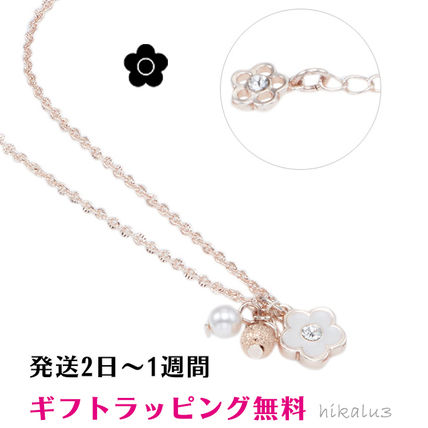 Costume Jewelry Casual Style Flower Chain Party Style