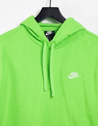 Nike Hoodies Pullovers Sweat Street Style Long Sleeves Plain Cotton Logo 3