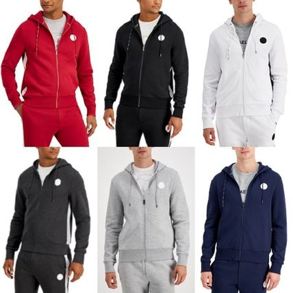 Michael Kors Hoodies Long Sleeves Cotton Logo Hoodies