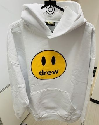 drew house Hoodies Pullovers Unisex Street Style Long Sleeves Cotton Oversized 2