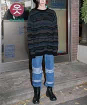 FLARE UP Sweaters Unisex Street Style Short Sleeves Sweaters 5