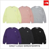 THE NORTH FACE WHITE LABEL Unisex Long Sleeves Outdoor Sweatshirts