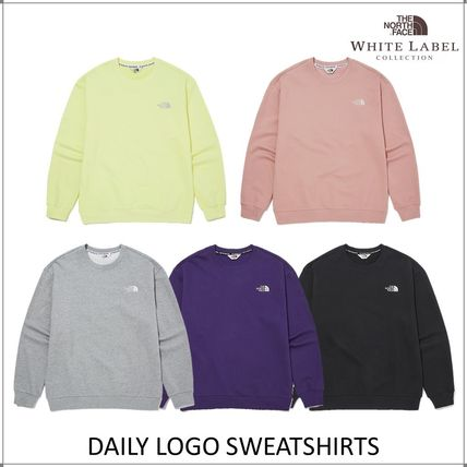 THE NORTH FACE WHITE LABEL Unisex Long Sleeves Hoodies & Sweatshirts
