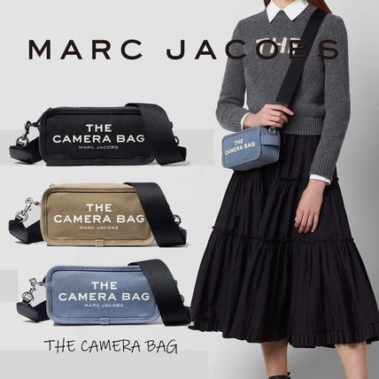 MARC JACOBS Casual Style Canvas Vanity Bags Plain Party Style