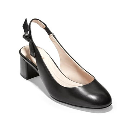 Round Toe Plain Leather Party Style Office Style