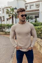 Father & Sons Sweaters Crew Neck Street Style Long Sleeves Plain Sweaters 9