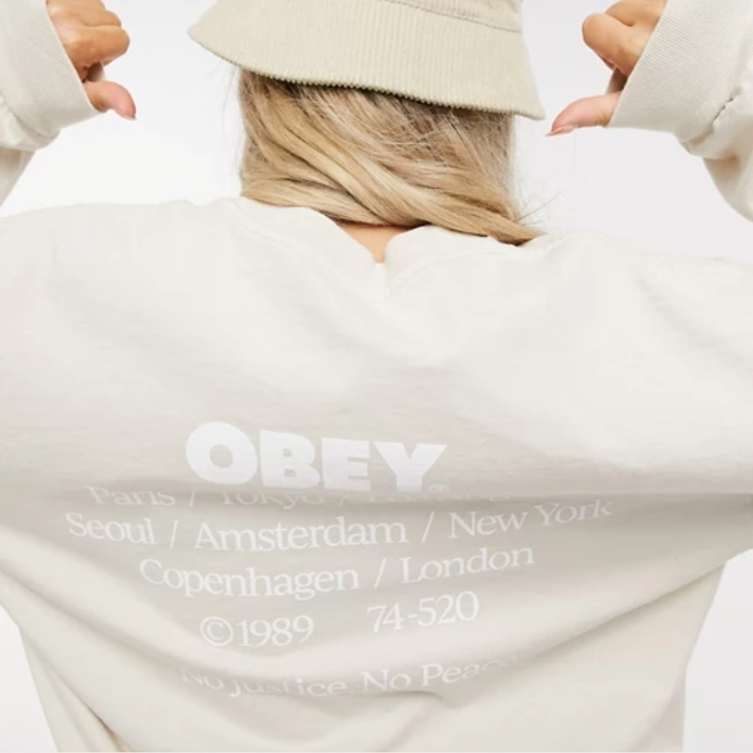 shop obey clothing