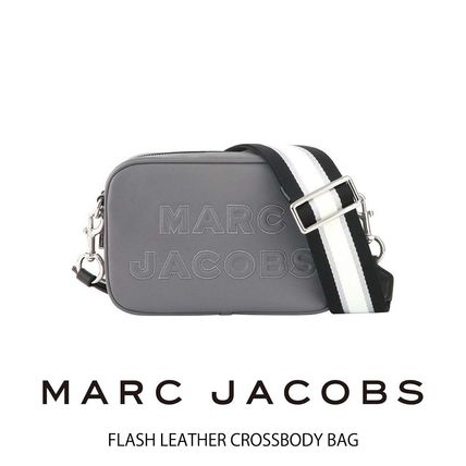 MARC JACOBS Casual Style Unisex Vanity Bags 2WAY Plain Leather