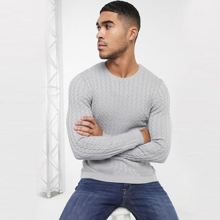 ASOS Sweaters Crew Neck Long Sleeves Plain Sweaters 2
