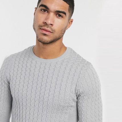 ASOS Sweaters Crew Neck Long Sleeves Plain Sweaters 4