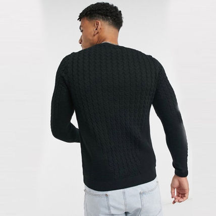 ASOS Sweaters Crew Neck Long Sleeves Plain Sweaters 6