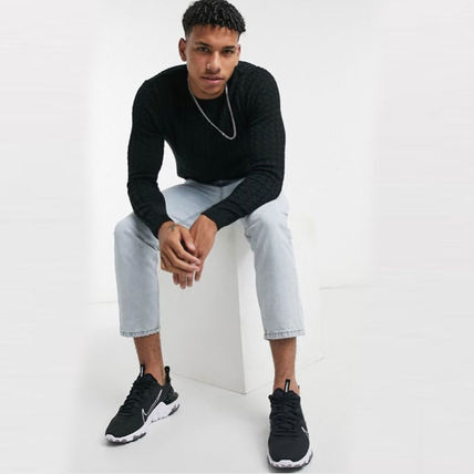 ASOS Sweaters Crew Neck Long Sleeves Plain Sweaters 7