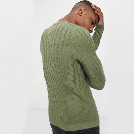 ASOS Sweaters Crew Neck Long Sleeves Plain Sweaters 8