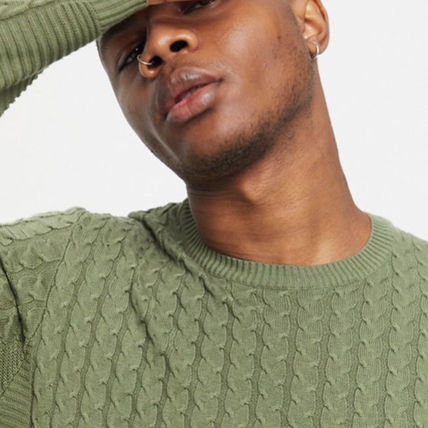 ASOS Sweaters Crew Neck Long Sleeves Plain Sweaters 10