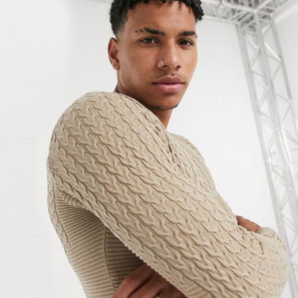 ASOS Sweaters Crew Neck Long Sleeves Plain Sweaters 12