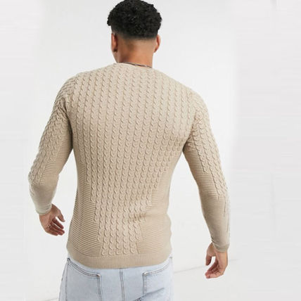 ASOS Sweaters Crew Neck Long Sleeves Plain Sweaters 13