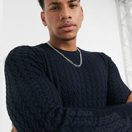 ASOS Sweaters Crew Neck Long Sleeves Plain Sweaters 14