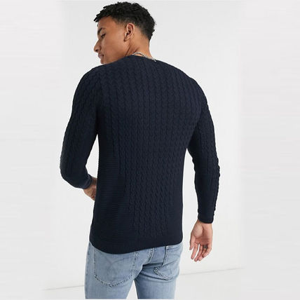 ASOS Sweaters Crew Neck Long Sleeves Plain Sweaters 15