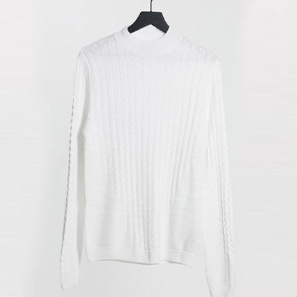 ASOS Sweaters Crew Neck Long Sleeves Plain Sweaters 17