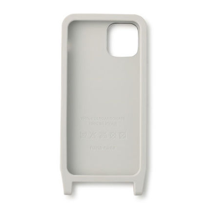 Unisex Plain Logo iPhone 11 Pro Smart Phone Cases