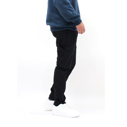 DIESEL BLACK GOLD Tapered Pants Street Style Plain Tapered Pants