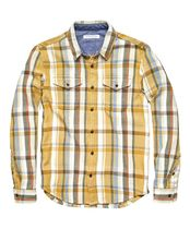 Outer known Stripes Other Plaid Patterns Long Sleeves Plain Cotton