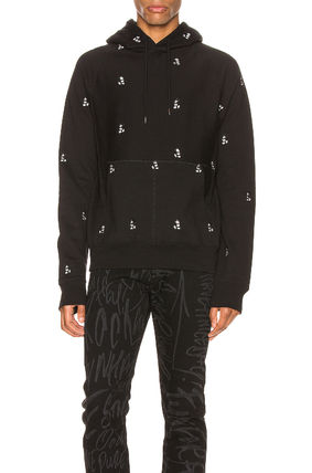Pullovers Unisex Street Style Collaboration Long Sleeves
