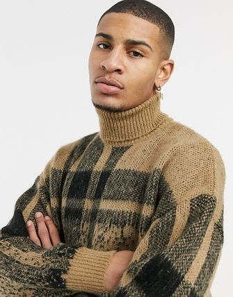 ASOS Sweaters Other Plaid Patterns Long Sleeves Sweaters 2