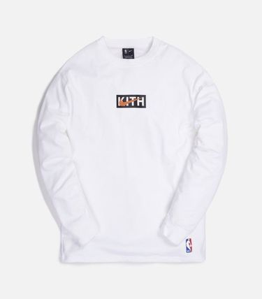 KITH NYC Long Sleeve Street Style Collaboration Long Sleeves Long Sleeve T-shirt