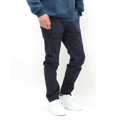 DIESEL BLACK GOLD Tapered Pants Plain Cotton Street Style Oversized