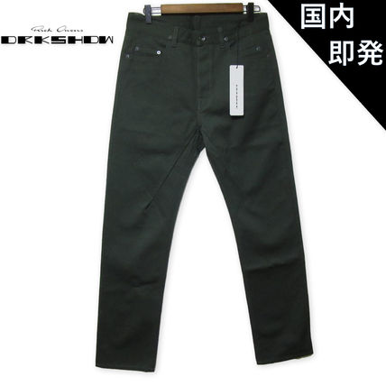 RICK OWENS Tapered Pants Corduroy Plain Tapered Pants
