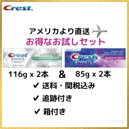 Crest Whiteness Tooth Pastes