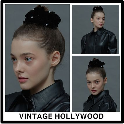 VINTAGE HOLLYWOOD Casual Style Elegant Style Hair Accessories