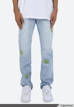MNML More Jeans Denim Street Style Cotton Jeans 2