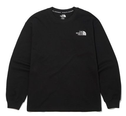 THE NORTH FACE Long Sleeve Unisex Street Style Long Sleeves Long Sleeve T-shirt Logo 2