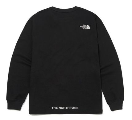 THE NORTH FACE Long Sleeve Unisex Street Style Long Sleeves Long Sleeve T-shirt Logo 3