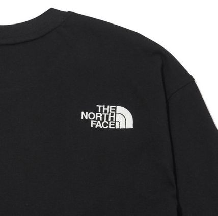 THE NORTH FACE Long Sleeve Unisex Street Style Long Sleeves Long Sleeve T-shirt Logo 6