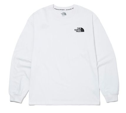 THE NORTH FACE Long Sleeve Unisex Street Style Long Sleeves Long Sleeve T-shirt Logo 8
