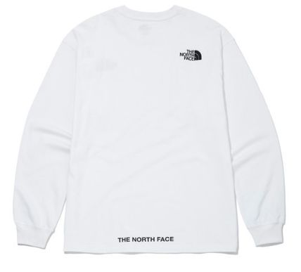 THE NORTH FACE Long Sleeve Unisex Street Style Long Sleeves Long Sleeve T-shirt Logo 9