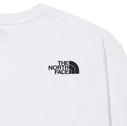 THE NORTH FACE Long Sleeve Unisex Street Style Long Sleeves Long Sleeve T-shirt Logo 12