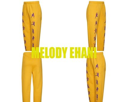 MELODY EHSANI More Activewear Unisex Blended Fabrics Tassel Street Style Chain Activewear