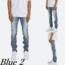 MNML More Jeans Denim Street Style Plain Cotton Jeans 8