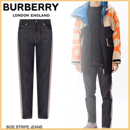 Burberry More Jeans Unisex Street Style Jeans