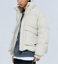 Code graphy Down Jackets Unisex Street Style Down Jackets 5