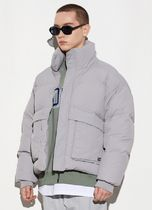 Code graphy Down Jackets Unisex Street Style Down Jackets 14