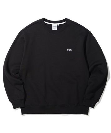 Code graphy Sweatshirts Pullovers Unisex Street Style Long Sleeves Cotton Oversized