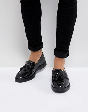 ASOS Loafers Plain Leather Loafers & Slip-ons