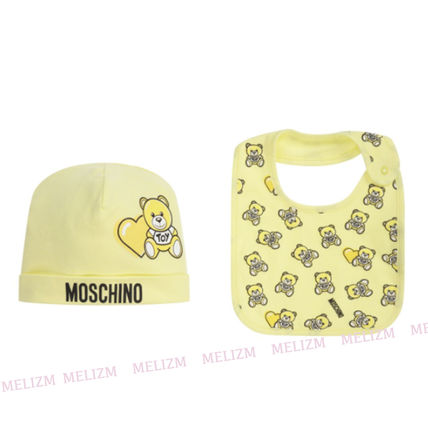 Moschino Unisex Co-ord Baby Girl Bibs & Burp Cloths